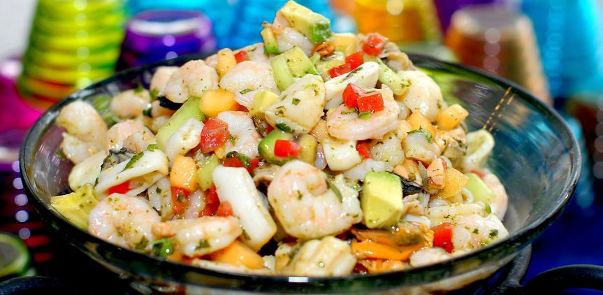 Fresh Ceviche -- a Colorful Crowd Pleaser!