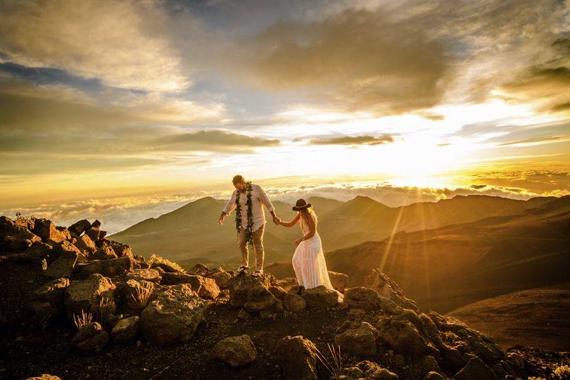Haleakalā sunrise elope hawaii