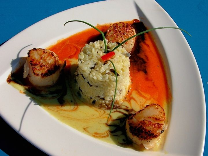 Tmx 1511402708069 Scallop Appetizer 800x600 Little River, SC wedding venue