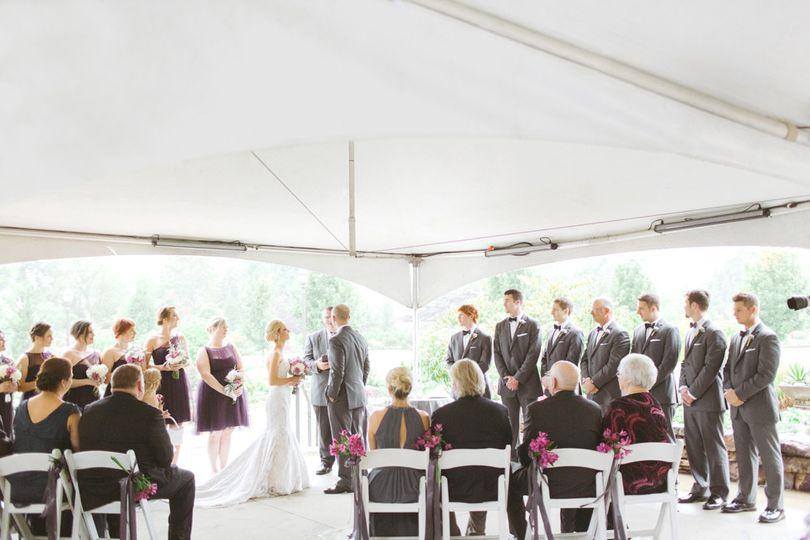 Reception on the Tyson Terrace