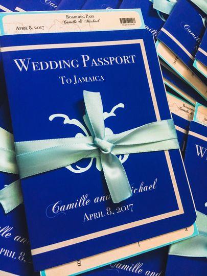 Passport Invitation