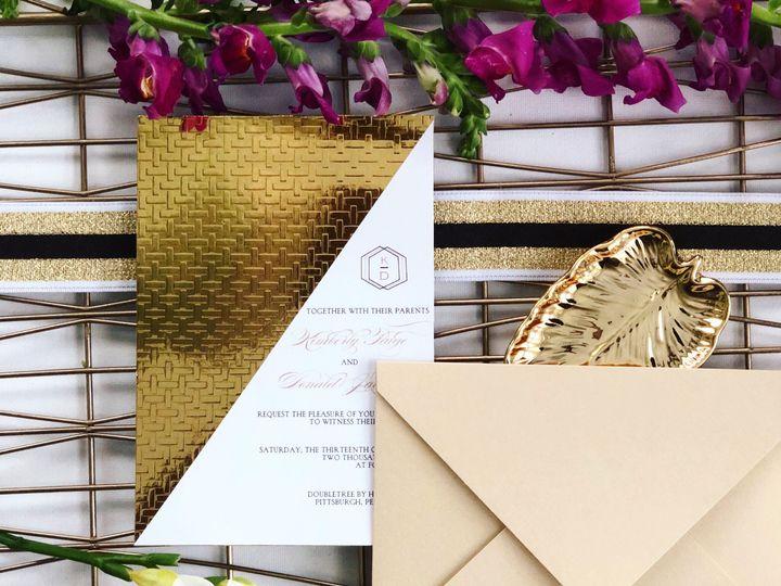 Textured Gold Foil
