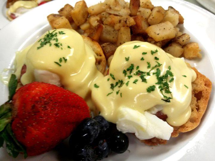 Tmx 1428614094232 Eggs Benedict Plated Breakfast Port Orchard, Washington wedding catering