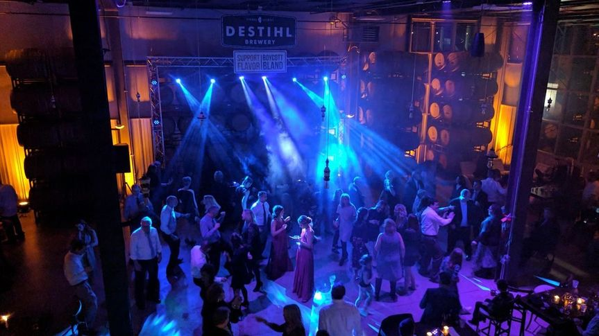 Dance floor lighting 2.17.18!