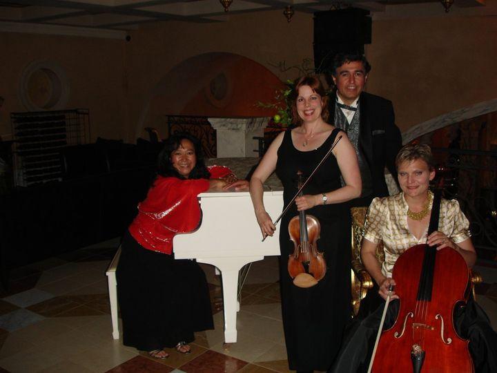 The violin band