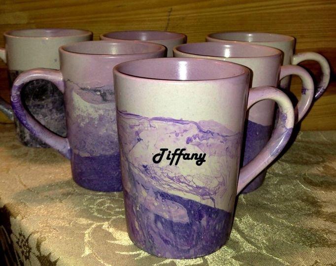 Violet mugs