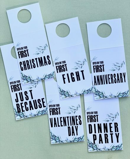 Year of Firsts Bottle Tags
