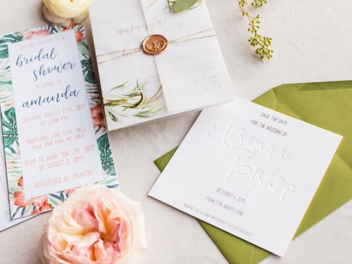 Tmx 100519 Procopio Photography Af 0013 51 781284 158829385077105 Parkton, MD wedding invitation