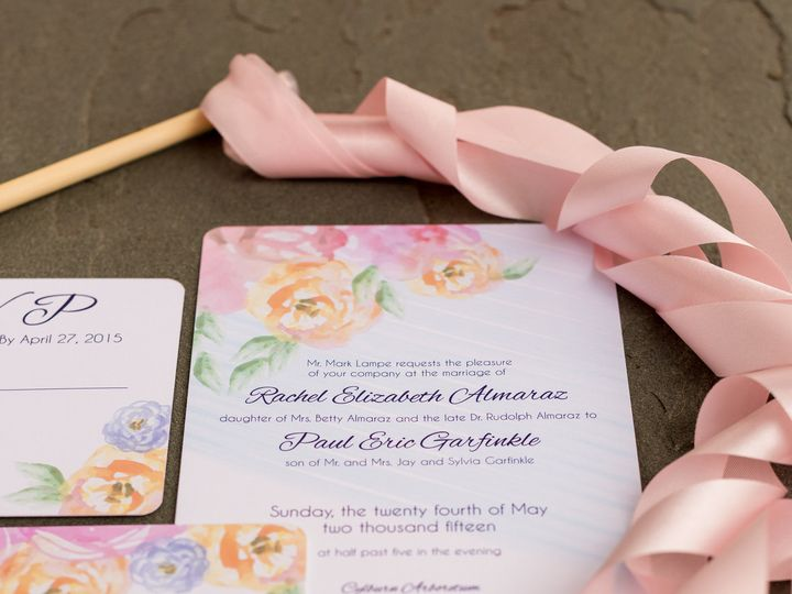 Tmx 1446158300987 052415 Procopio Photography Almaraz Wedding Do Not Parkton, MD wedding invitation