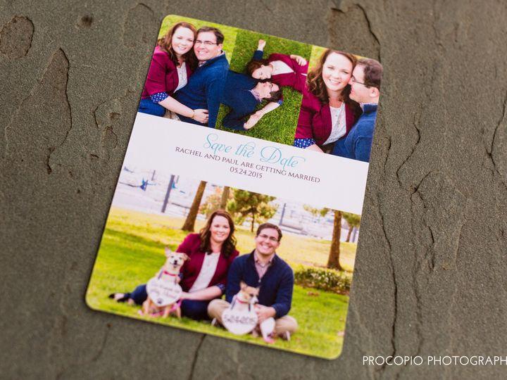 Tmx 1446158557411 052415 Procopio Photography Almaraz Wedding Do Not Parkton, MD wedding invitation