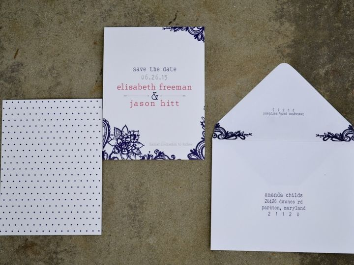 Tmx 1446158571077 Thumbdsc00141024 Parkton, MD wedding invitation
