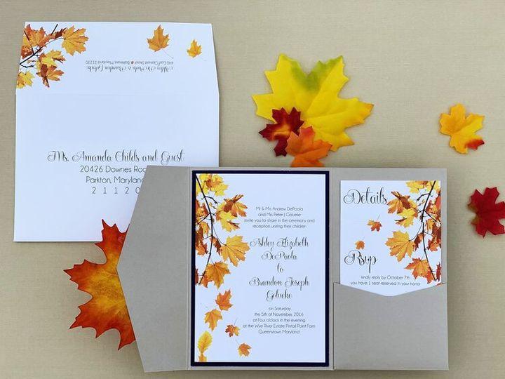 Tmx Img 7583copy 51 781284 158829390065727 Parkton, MD wedding invitation