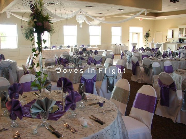 Tmx 1389840396922 Chair Covers Dance Floo Dimondale, Michigan wedding rental