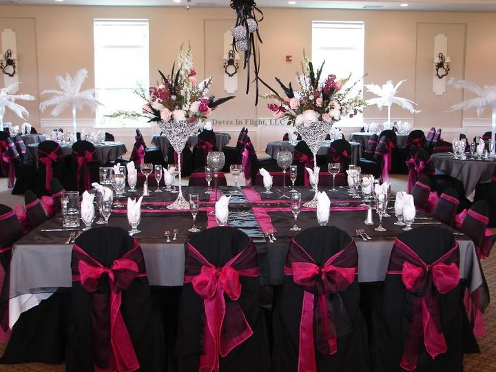 Tmx 1389840983860 Black With Hot Pink Double Sas Dimondale, Michigan wedding rental