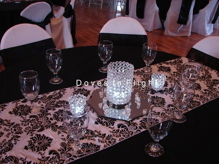 Tmx 1389841417488 Crystal Centerpiec Dimondale, Michigan wedding rental