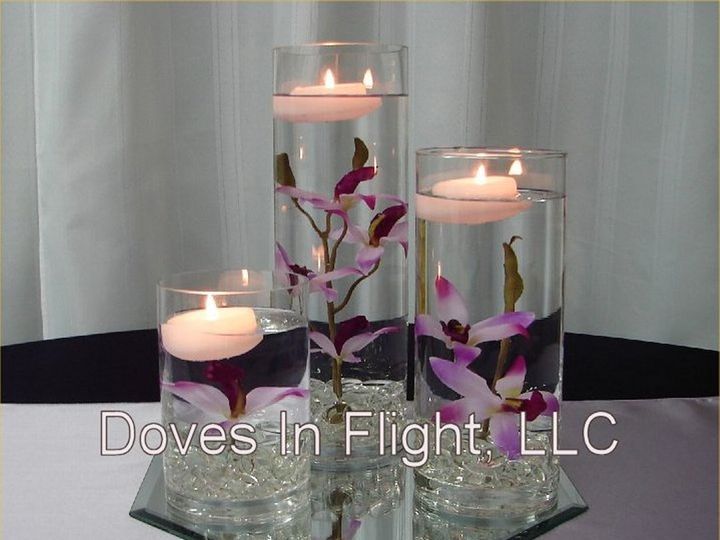 Tmx 1389841444716 Cylinder Centerpiece Dimondale, Michigan wedding rental