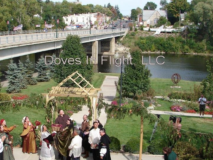 Tmx 1389842202914 Mediaeval Wedding Dove Releas Dimondale, Michigan wedding rental