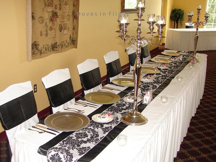 Tmx 1389842331644 Black  White Head Table English In Dimondale, Michigan wedding rental