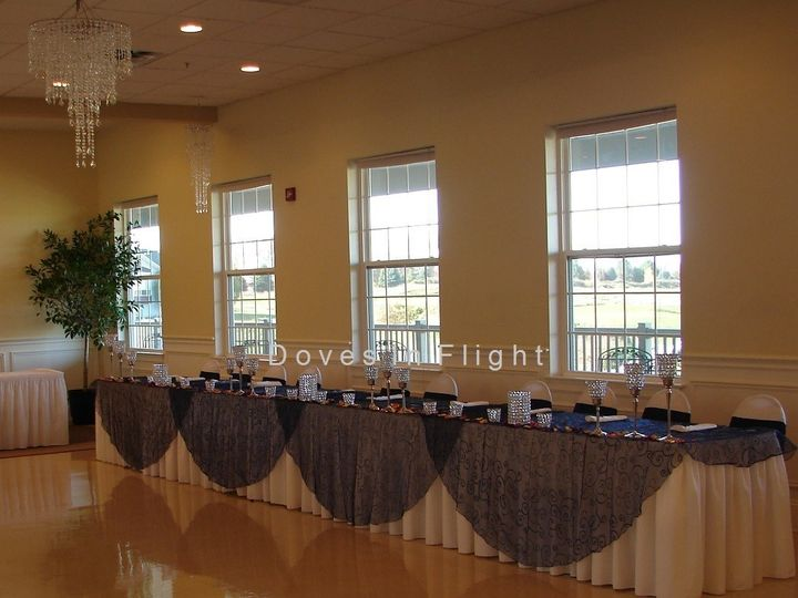 Tmx 1389842925960 Eggplant Embroidered Overlay Dimondale, Michigan wedding rental