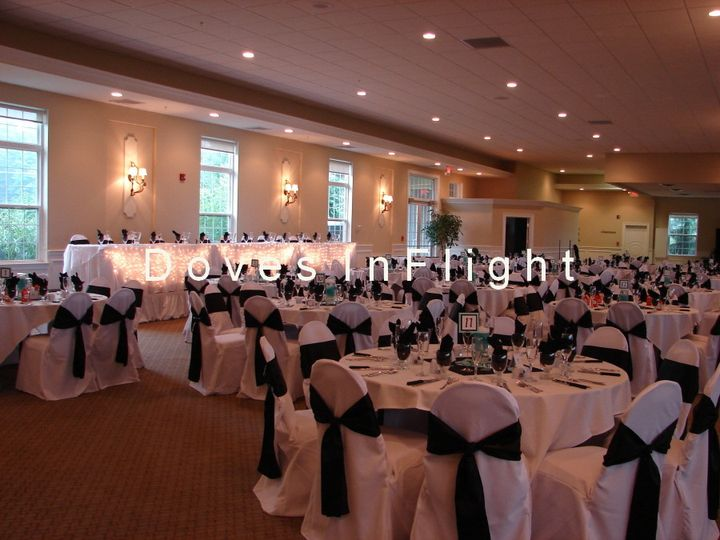 Tmx 1389843133907 Lighted Head Table With Overlay Dimondale, Michigan wedding rental