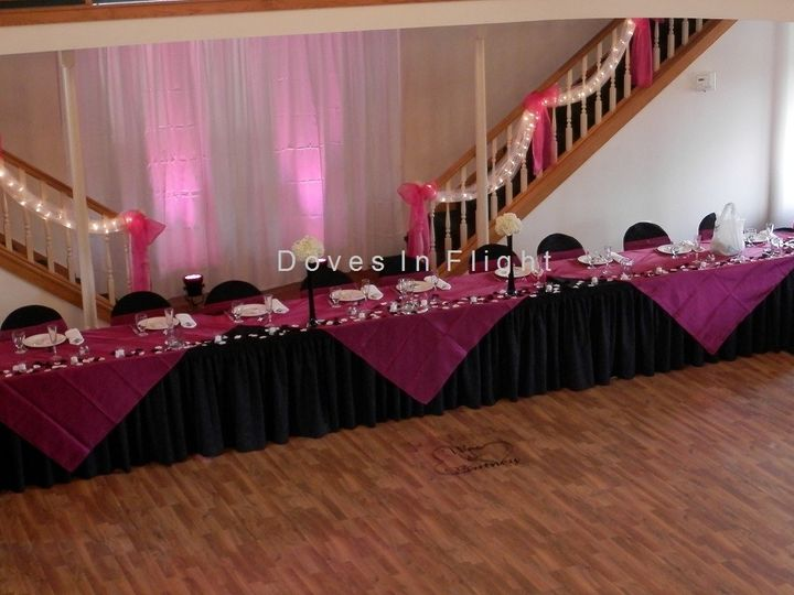 Tmx 1389843392949 Organza Overlays On Blac Dimondale, Michigan wedding rental