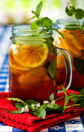 Southern Sweet Tea - Enjoy plain or with fruit infusions!