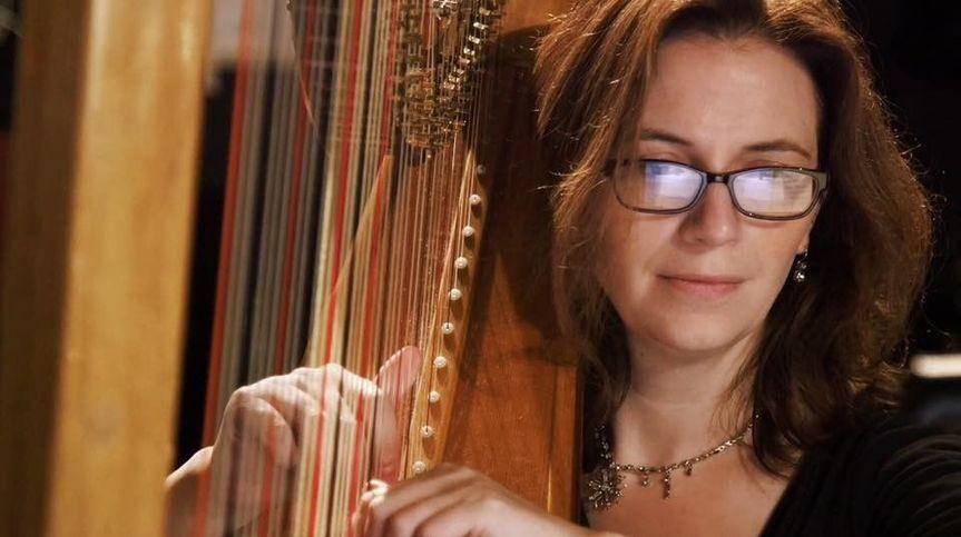Bethany Evans, Harpist