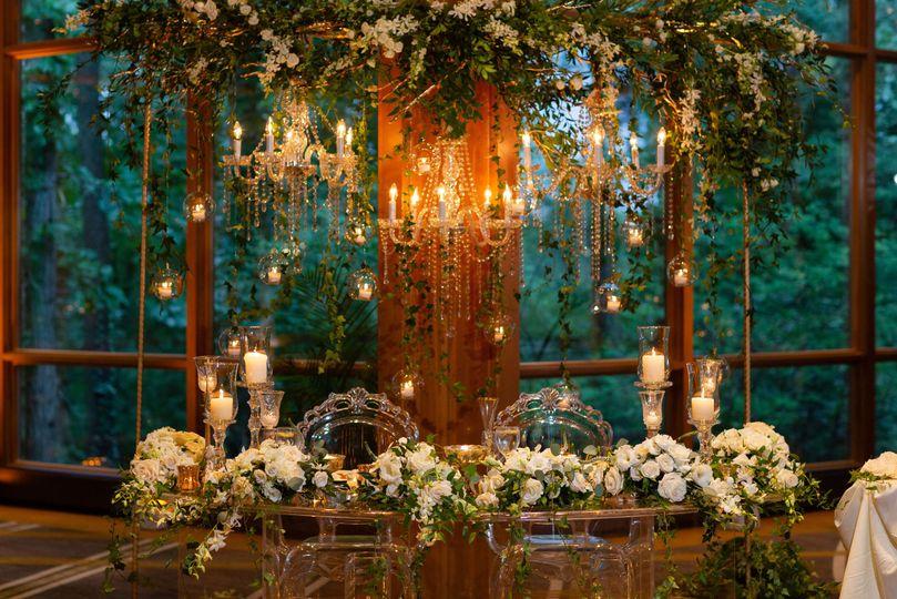Grand Oaks Pavilion head table