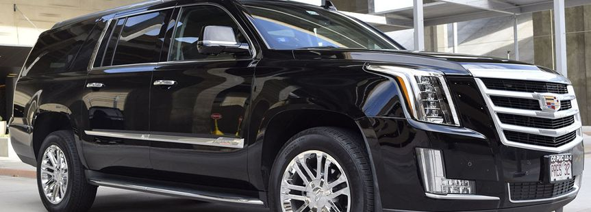 Escalade SUV front view