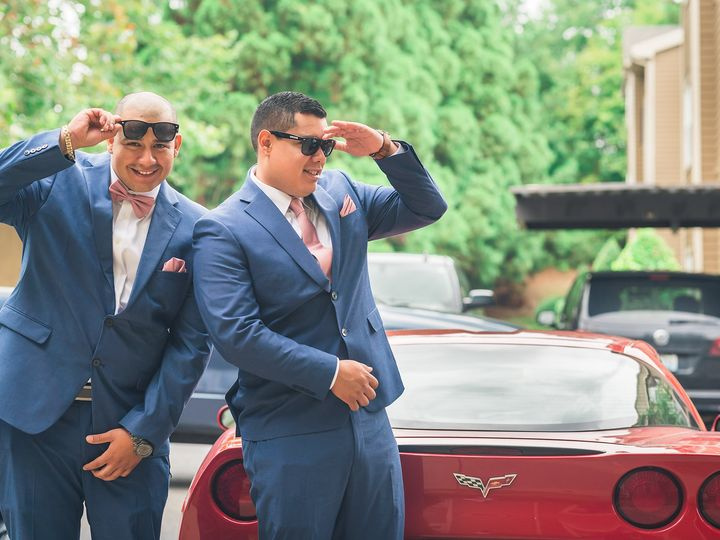 Tmx Groom And Best Man Portrait By Red Ferrari 2048 1367 51 1006284 1570780158 Raleigh, NC wedding photography