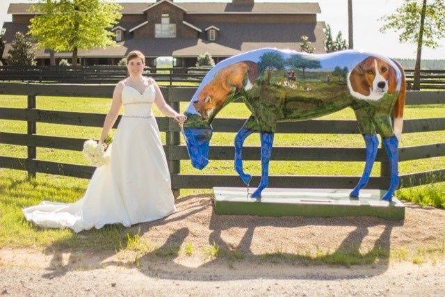 bridewithpaintedhorse