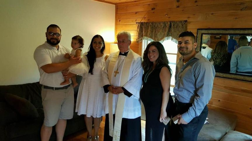 The parents and Godparents