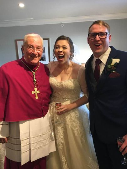 Mr and Mrs Gavin Hunt