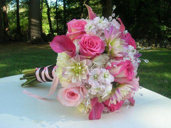 Tmx 1238122401722 Christineandmatt1026 West Bridgewater wedding florist