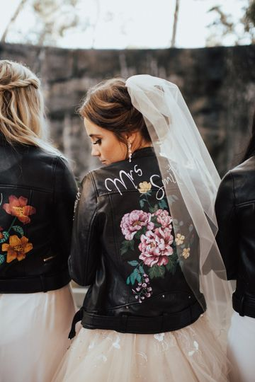 Bride with her tribe