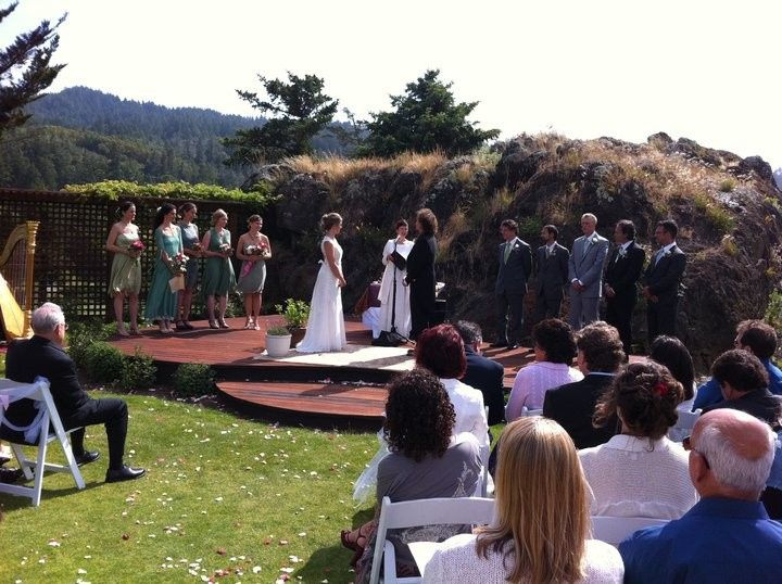 Wedding at the San Geronimo Country Club in Marin County, California. Many traditions were...
