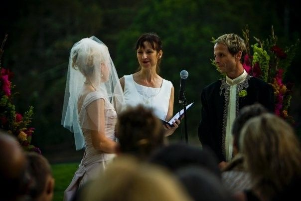 Joyous wedding at the historic Brazilian Room in Tilden Park. The ceremony was held on the flagstone...