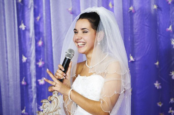 bride microphone