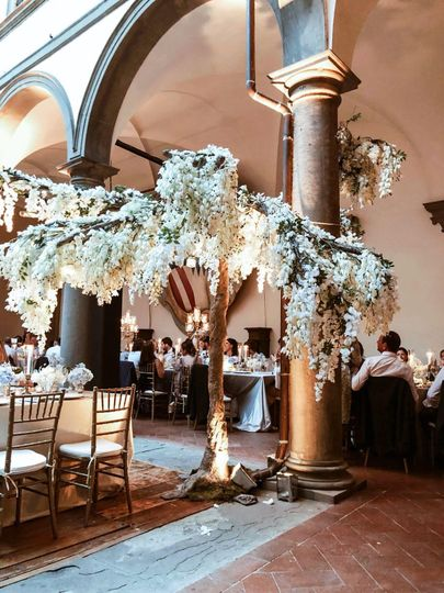 Grand floral decorations