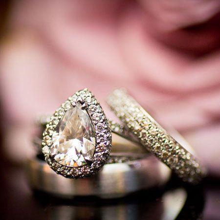 pear diamond rings in dallas