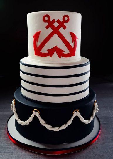 French Nautical cake