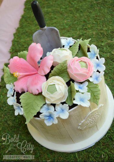 garden cake 2