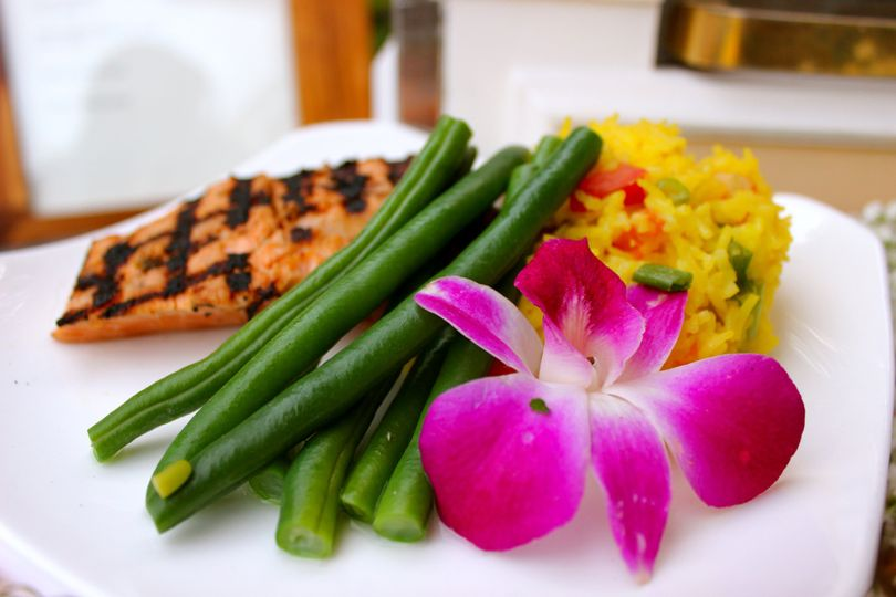 salmon green beans orchid2
