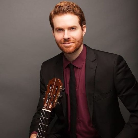 Portrait of guitarist