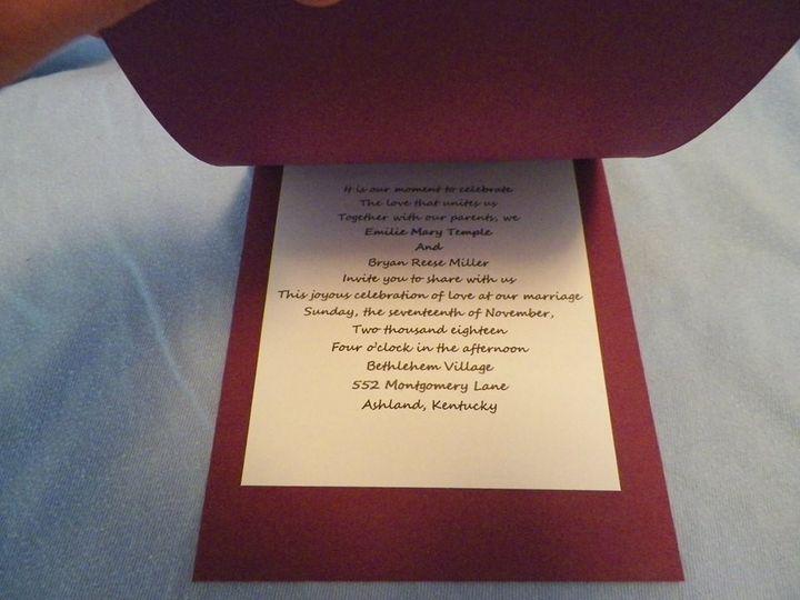 Tmx 1415648728613 Emilie10 Franklin wedding invitation