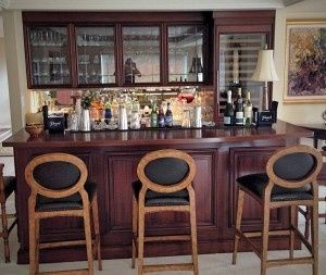 Bar section