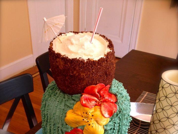 Tmx 1347930988190 IMG2219 North Bergen, NJ wedding cake
