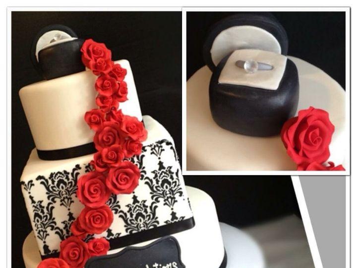 Tmx 1481059982336 Img4230 North Bergen, NJ wedding cake