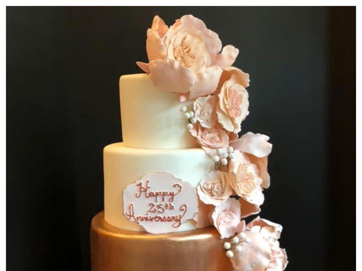 Tmx Anni Rose Gold Cake 51 165384 1567440948 North Bergen, NJ wedding cake