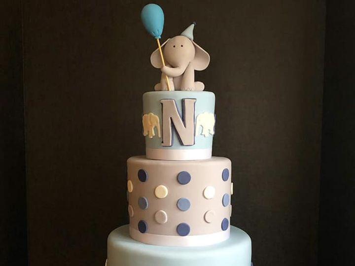 Tmx Elephant Baby Shower Cake 51 165384 1567440930 North Bergen, NJ wedding cake